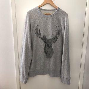 Merona deer sweatshirt